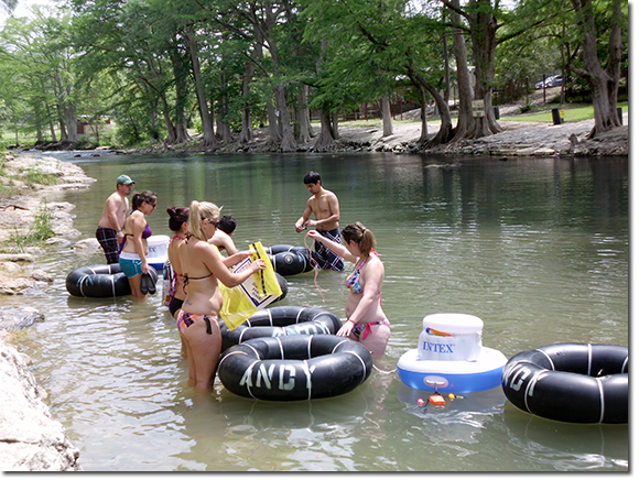 This could be you getting in the river!